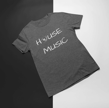 House Music Shirt Heather Grey