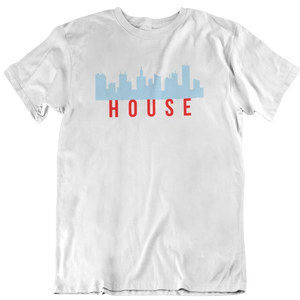 Chicago House Music Skyline Tee