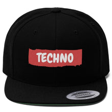 Techno Hat Black