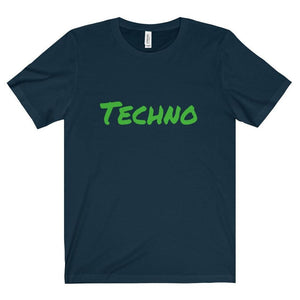 Techno Shirt navy