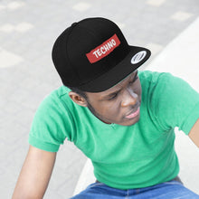 Techno Hat Black model man