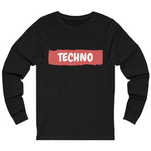 Techno Paint Long Sleeve black