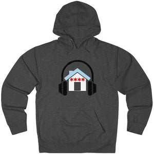Chicago House Music Flag Hoodie dark grey