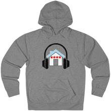 Chicago House Music Flag Hoodie light grey
