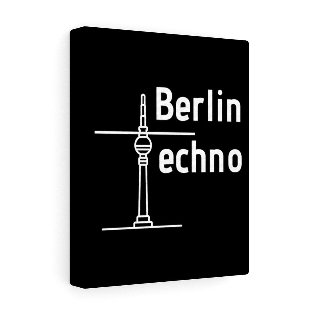 Berlin Techno Premium Wall Canvas