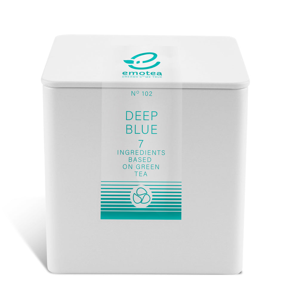 mindfulness Tea emotea Deep Blue  No 102 packed in tin