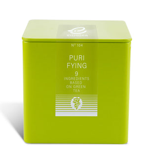Tea emotea mindfulness Purifying No 104 packing in tin