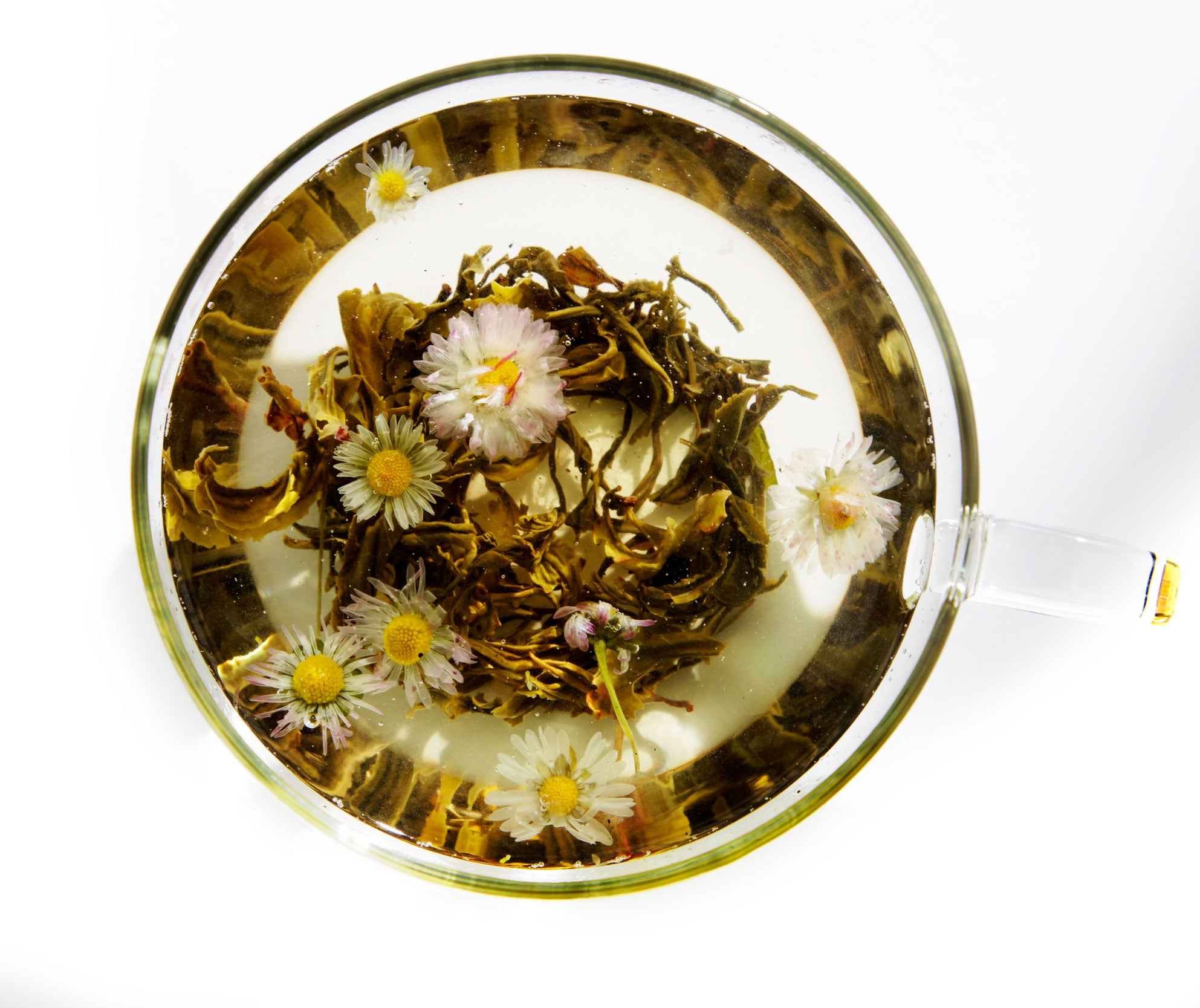 Tea emotea mindfulness Purifying No 104 brewed in cup top