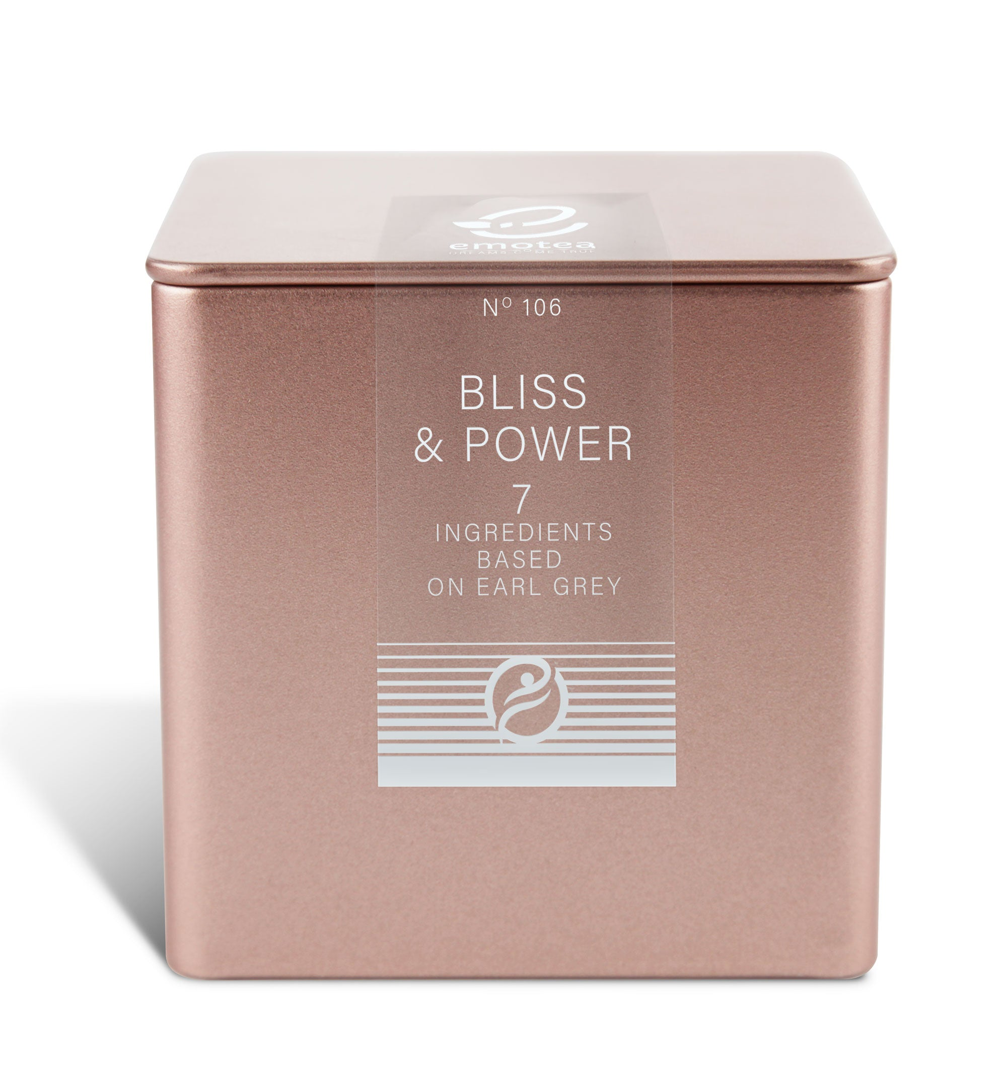 Tea emotea mindfulness Bliss&Power  No 106 packed in tin