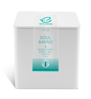Tea emotea mindfulness   Soul&Mind  No 110 packed in tin
