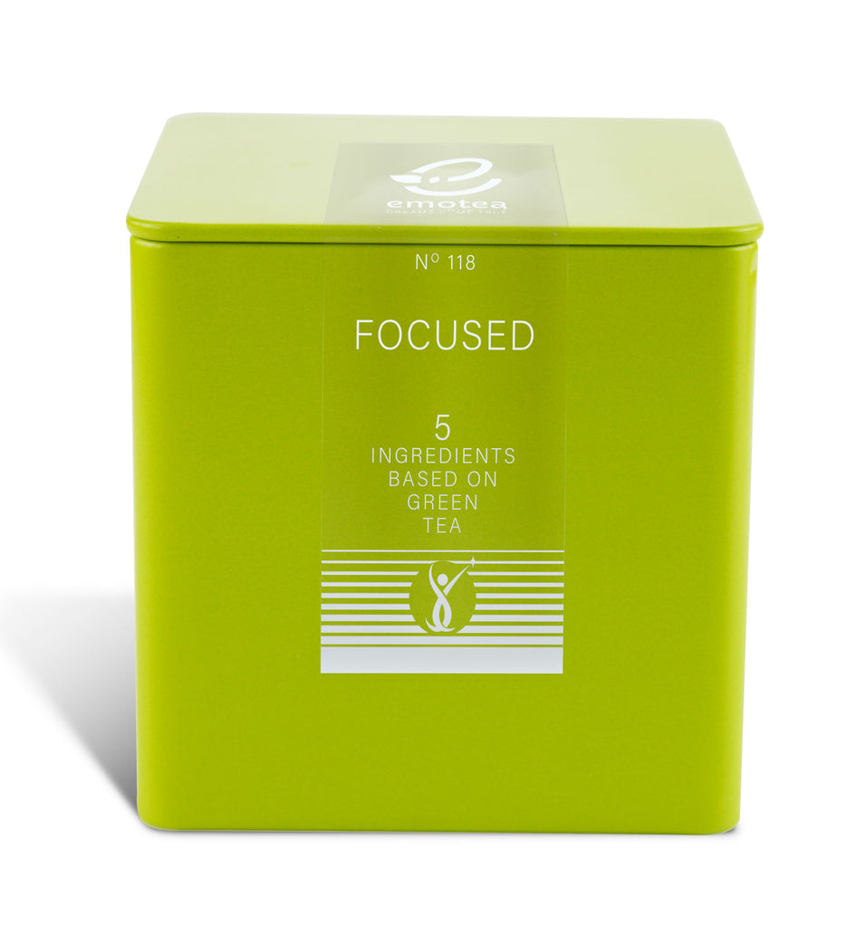 Tea emotea mindfulness Focused No 118 packed in tin