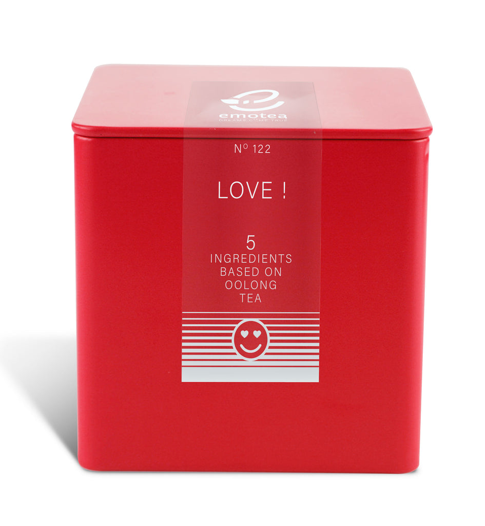 Tea emotea Love No 122 packed in tin