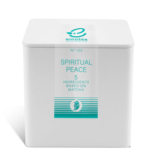 Tea emotea mindfulness  Spiritual Peace  No 123 packed in tin