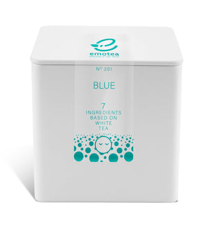 Tea emotea mindfulness  Blue No 201 packed in tin
