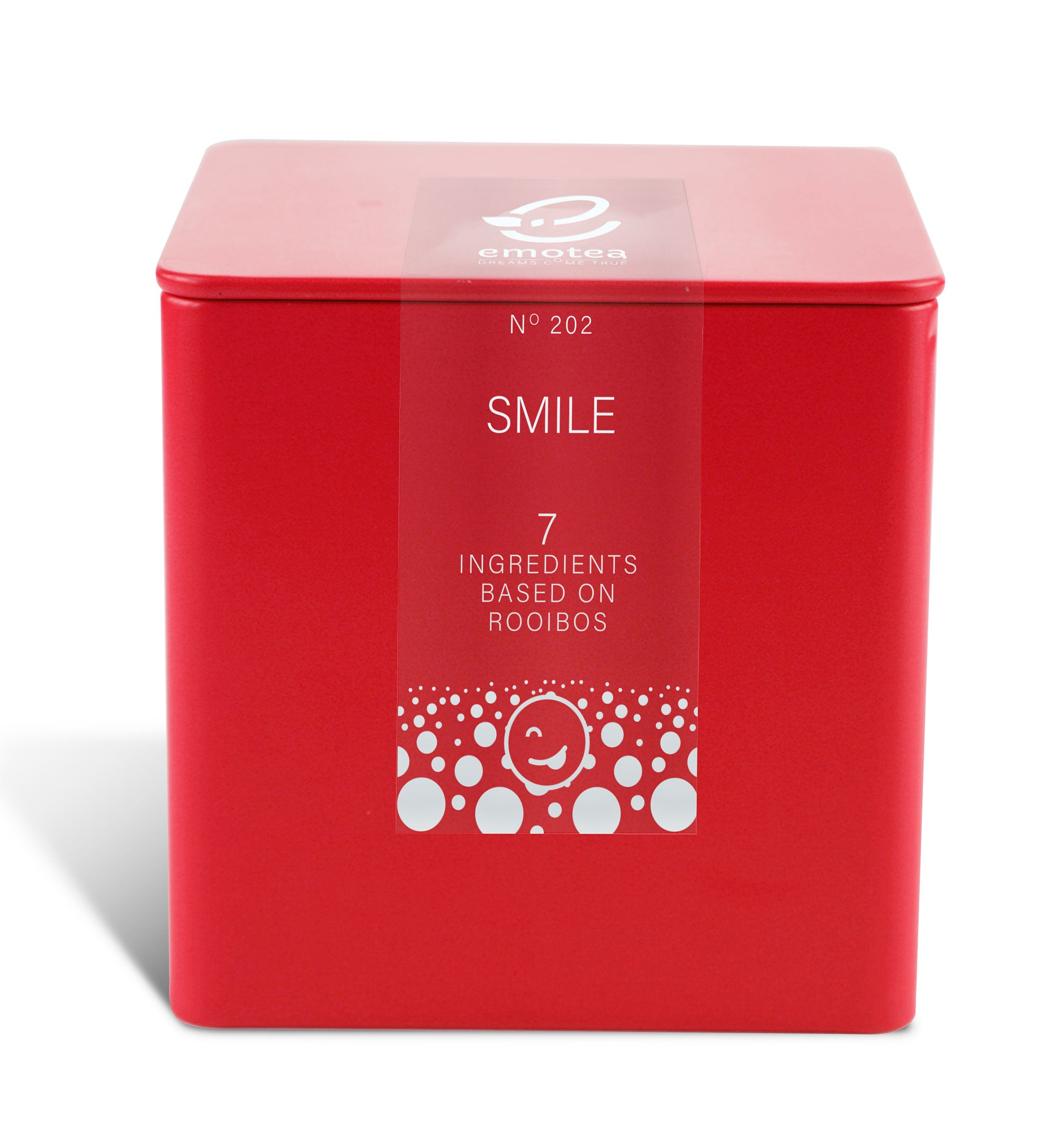 Tea emotea for child Smile No 202 packed in tin