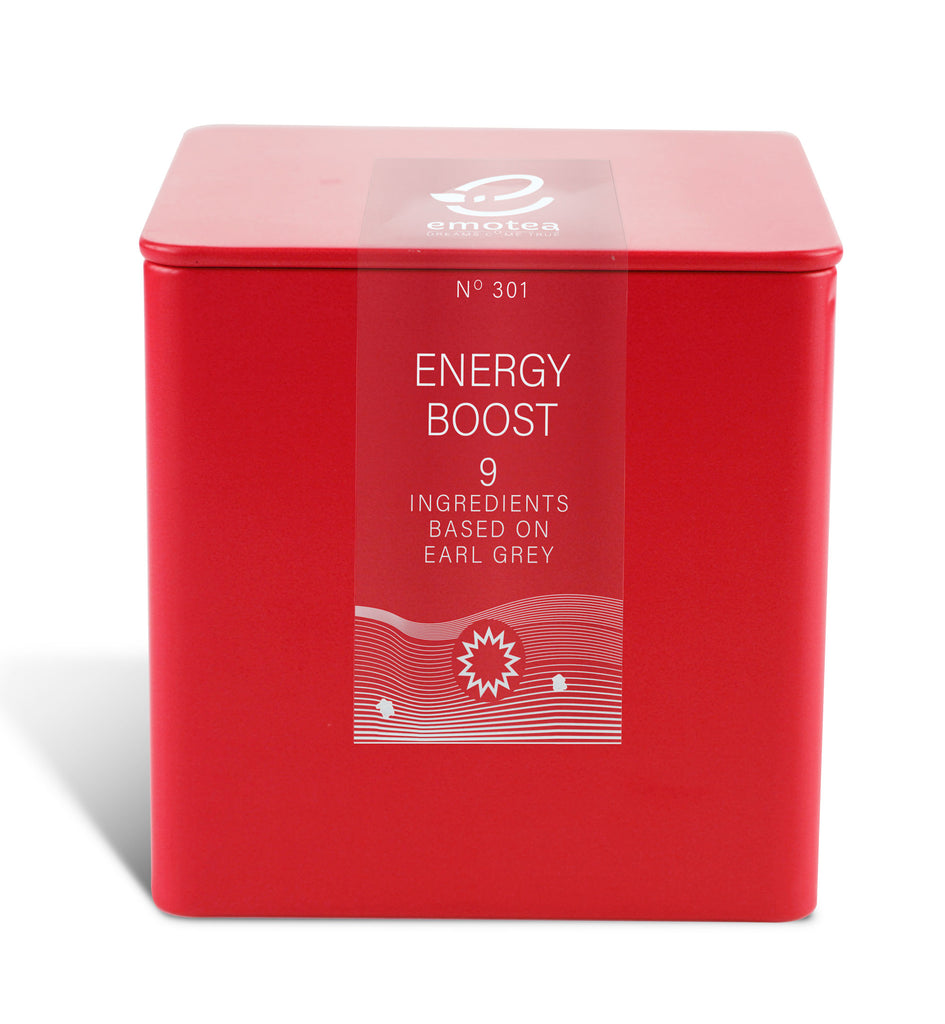 Tea emotea Energy Boost No 301 packed in tin