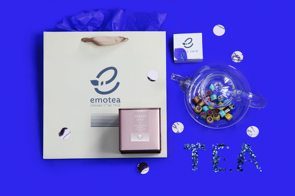 emotea mindfulness Creativity Gift set with teapot