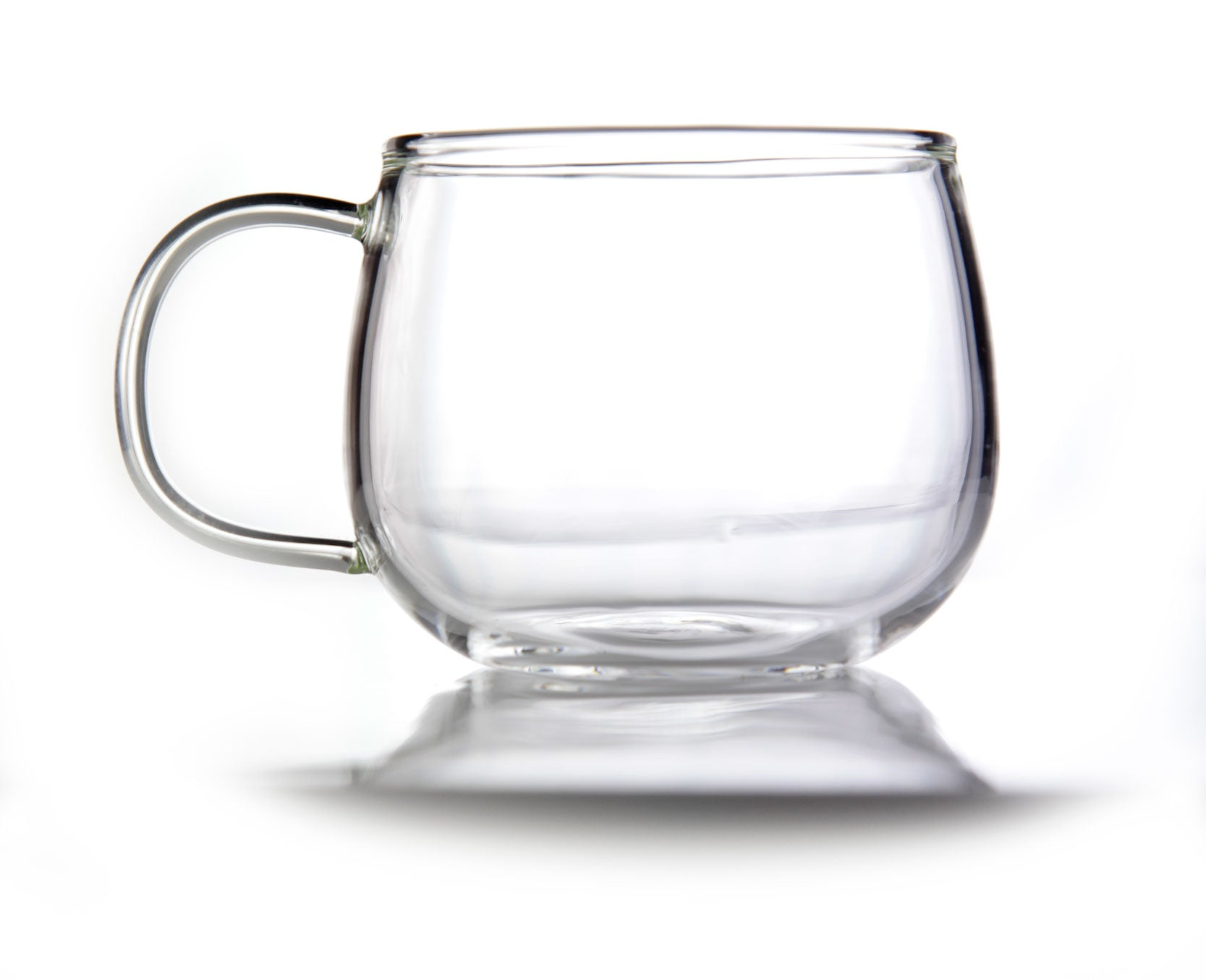 a simple glass cup 150 ml for mindfulness emotea