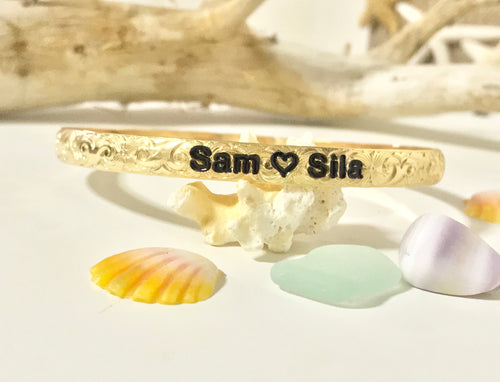 6mm Normal Font Bracelet