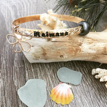 6mm Deluxe Hawaiian Font Bracelet