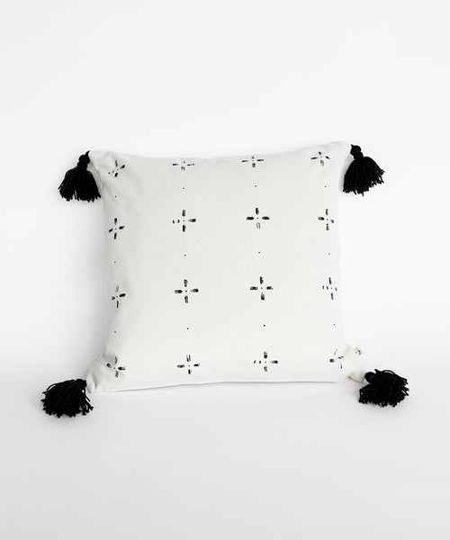 Pillow case - Black Cross