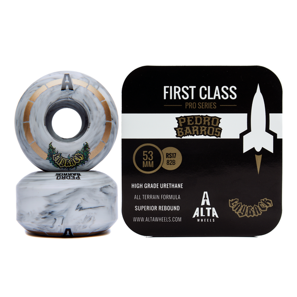 53mm First Class Pro Series Pedro Barros & Layback Beer Collab - Alta Wheels