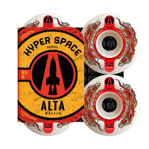 55mm Hyper Space Conics 83B - Alta Wheels