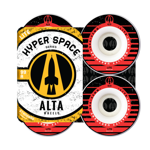52mm Hyper Space Lite 99A - Alta Wheels