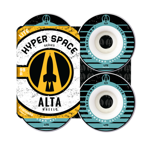 53mm Hyper Space Lite 99A - Alta Wheels
