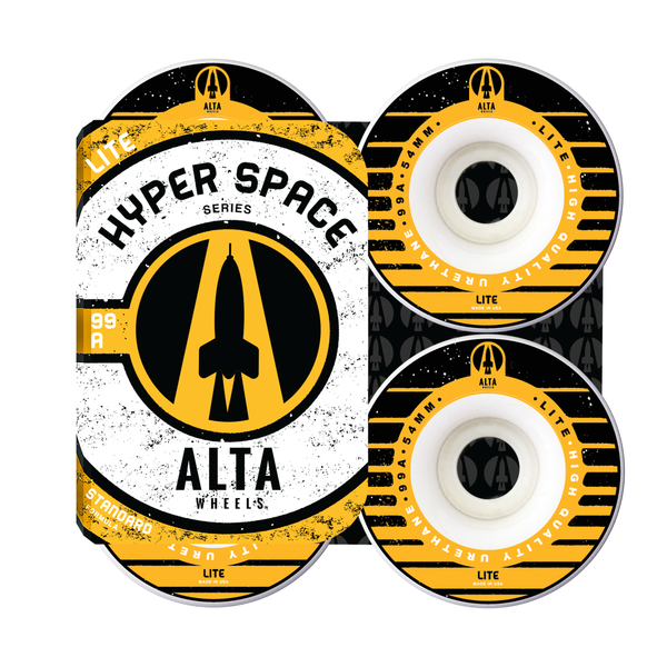 54mm Hyper Space Lite 99A - Alta Wheels