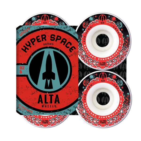 52mm Hyper Space Uncut 82B - Alta Wheels