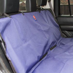 Ginger Ted Waterproof Rear Car Seat Cover. Suitable for most vehicles including SUVs 4x4s & hatchbacks. Easy to clean & fit