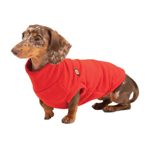 Cosy Fleece Dachshund Jumper