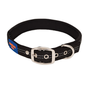 NEW Reflective Comfort Nylon Padded Adjustable Dog Collar