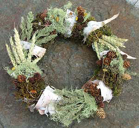 Bark & Cone Wreath
