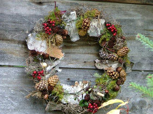 Berry & Cone Wreath
