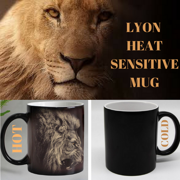 Lion Heat Sensitive Mug (Free Shipping)