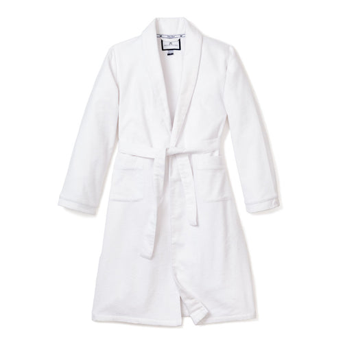 White Flannel Robe
