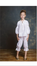 Load image into Gallery viewer, JOSEPHINA CRISPY WHITE PAJAMA by Amiki