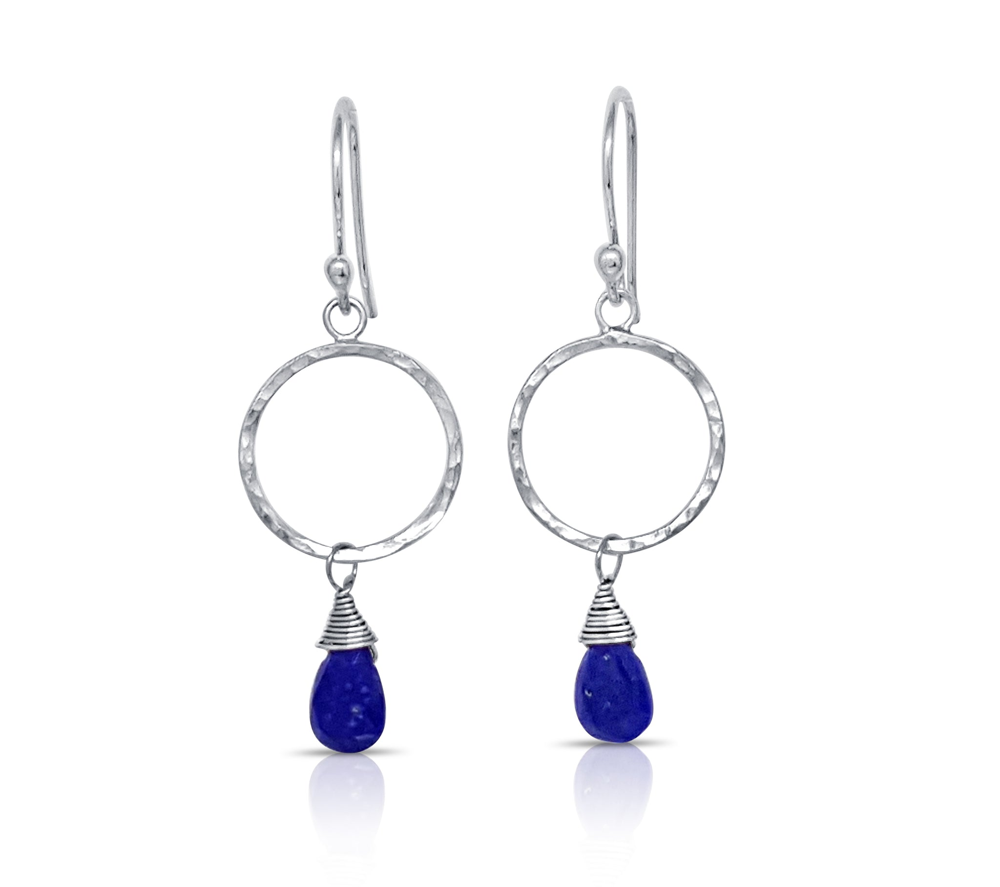 Lapis Briolette Earrings