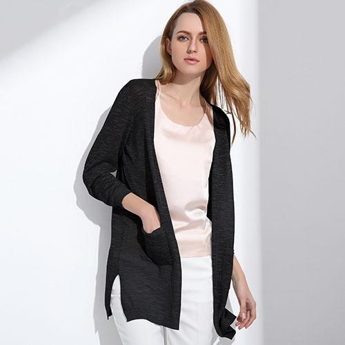 Summer Long Cardigan Btmfashion Black One Size