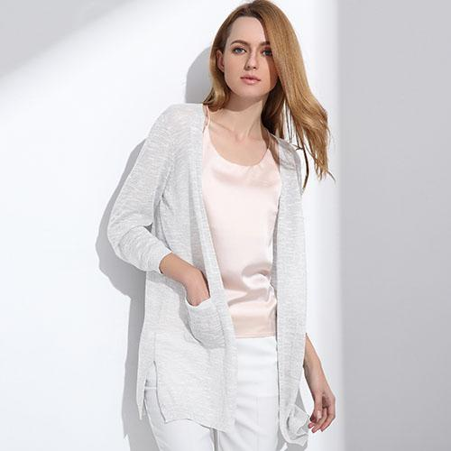 Summer Long Cardigan Btmfashion White One Size
