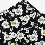 Summer Multicolor Floral Sleeveless Crop Top Btmfashion