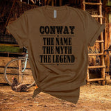 Conway Twitty ,The Legend,Country Music,Unisex,Short Sleeve T Shirt