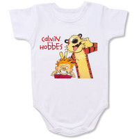 Calvin and Hobbes Cartoon Baby creepers,Baby jumper,Baby one piece,Baby onesies,T shirt ,Comics Tee,Funny T shirt Cartoon Baby creepers,Baby jumper