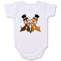 Chip and Dale Cartoon Baby creepers,Baby jumper,Baby one piece,Baby onesies,T shirt ,Comics Tee,Funny T shirt Cartoon Baby creepers,Baby jumper