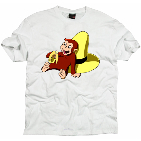 Curious George -Banana T-shirt
