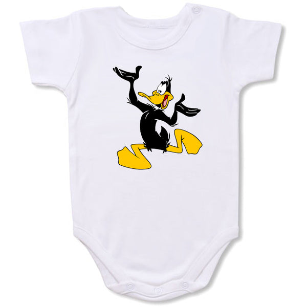 Daffy Duck Cartoon Baby creepers,Baby jumper,Baby one piece,Baby onesies,T shirt ,Comics Tee,Funny T shirt Cartoon Baby creepers,Baby jumper