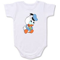 Donald Duck Cartoon Baby creepers,Baby jumper,Baby one piece,Baby onesies,T shirt ,Comics Tee,Funny T shirt Cartoon Baby creepers,Baby jumper