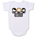 Nirvana Music Band Logo Baby onesie,Bodysuit,Baby creepers,Baby jumper,Baby one piece,Baby onesies,T shirt ,Band Tee